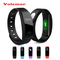 2017 Volemer QS80 New Sport Smart Bracelet Heart Rate Monitor Watches Blood Pressure Fitness Tracker Smartband
