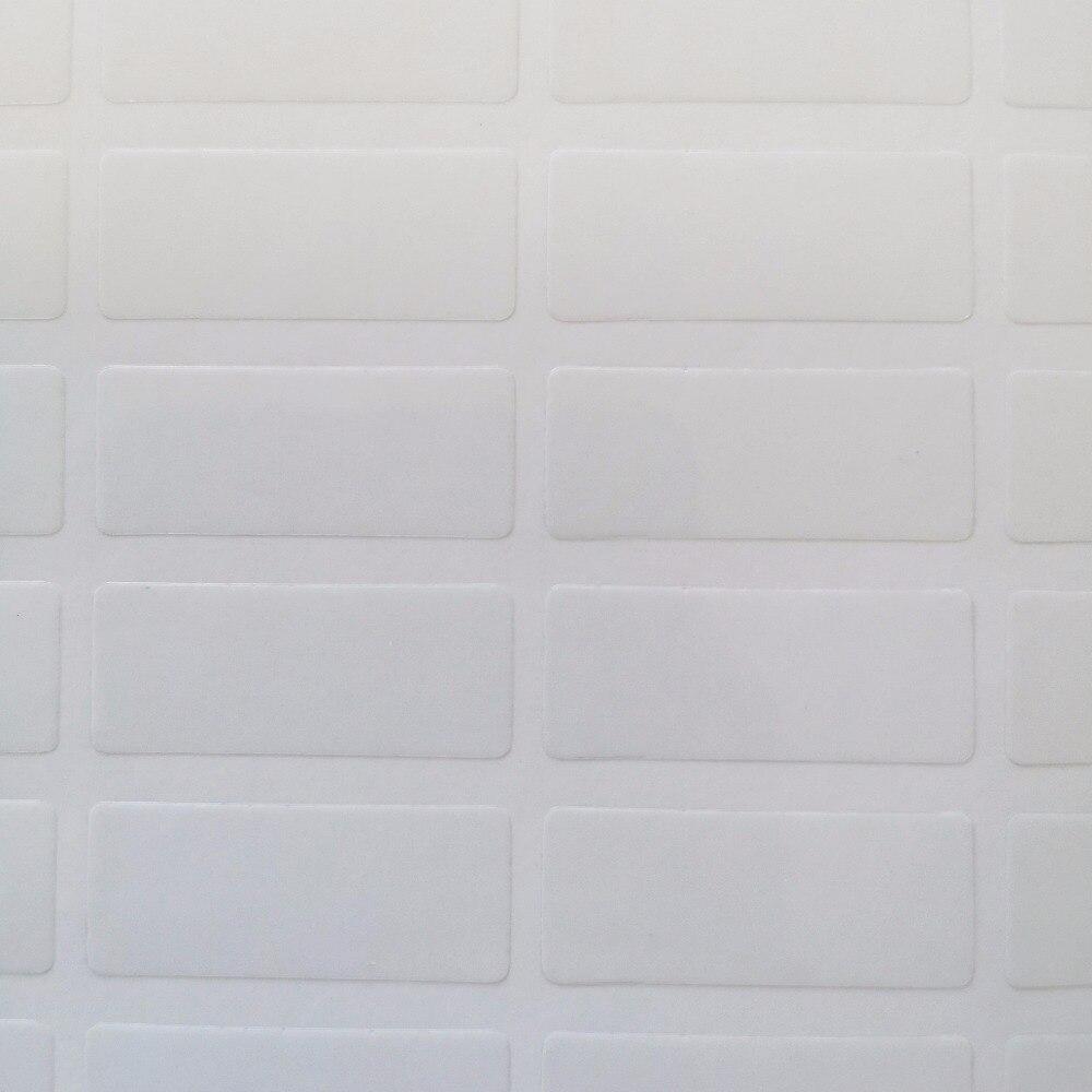 15000 قطعة 25x10 مللي متر شفافة PVC ملصق ، 0.05 مللي متر سمك ، البند لا. OF02-في ملصقات مكتبية من لوازم المكتب واللوازم المدرسية على  مجموعة 3