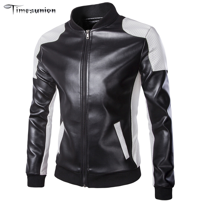 Кожаные Куртки мужские куртки мужчины Верхней Одежды мужские Пальто Весна и Осень Искусственная Кожа Куртка Де Couro Пальто Плюс размер M-5XL