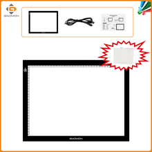 GAOMON GB4 Ultra-thin Micro USB Light Pad B4 Size Tracing Board for Sketching Copying with White Recycling Non-woven Bag