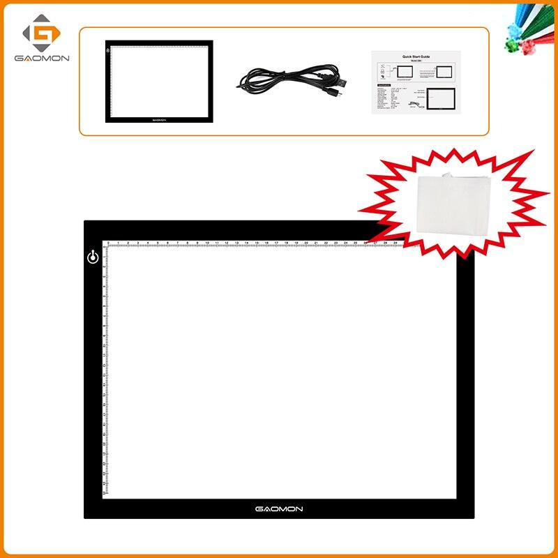 GAOMON GB4 Ultradunne micro USB-lichtpad B4-formaat overtrekbord voor - Computerrandapparatuur - Foto 2