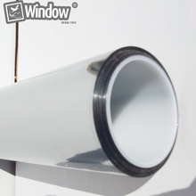Commercial Reflective Films Mirror Tint Silver 20% 20″x 10′ Home Window Film