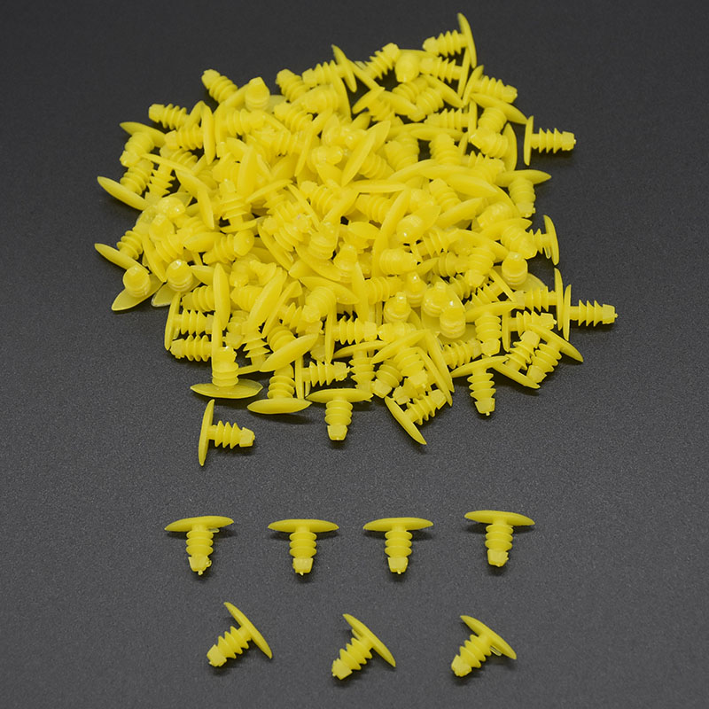 Image 4 - Xbs 200pcs Universal Auto Fastener Replace Screws Weatherstrip Retainer Plastic Rivets Seal Clip for Honda Toyota For All Car-in Auto Fastener & Clip from Automobiles & Motorcycles