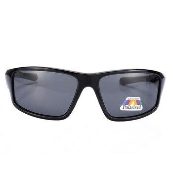 Glitztxunk Square Sunglasses Men Polarized 2018 Retro Sport Sun Glasses for Men Black Driving Male Eyewear Oculos Gafas De Sol