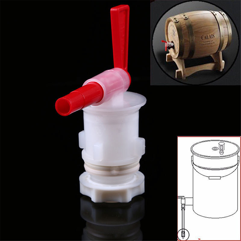 High Quality Exhaust Home Brew Wine Fermentation Airlock Air Lock Check Valve Water Sealed Valves Plastic Air Lock