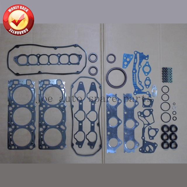 6g74 24 v двигатель в комплекте полный комплект прокладок Комплект для Mitsubishi Montero/Challenger 3.5L 3497CC 1998-2008 MD977868 50218700