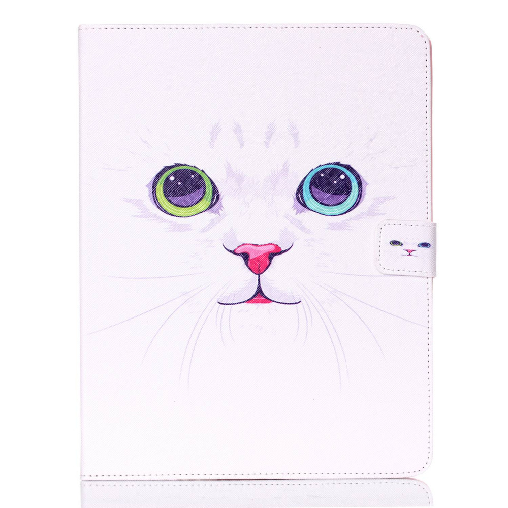 Fashion Owl Series Style Printed Stand Flip Pu Leather case for iPad 2 3 4 Cover With Card Slots for iPad 3 iPad 4 Table Case