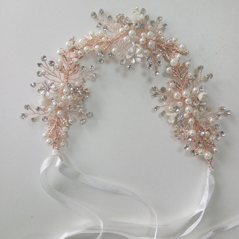 Clothing, Shoes & Accessories Beaded Headdress Wedding Gold Metal With Grey Beads Soft Tiara Boho Headband Costumes, Reenactment, Theater