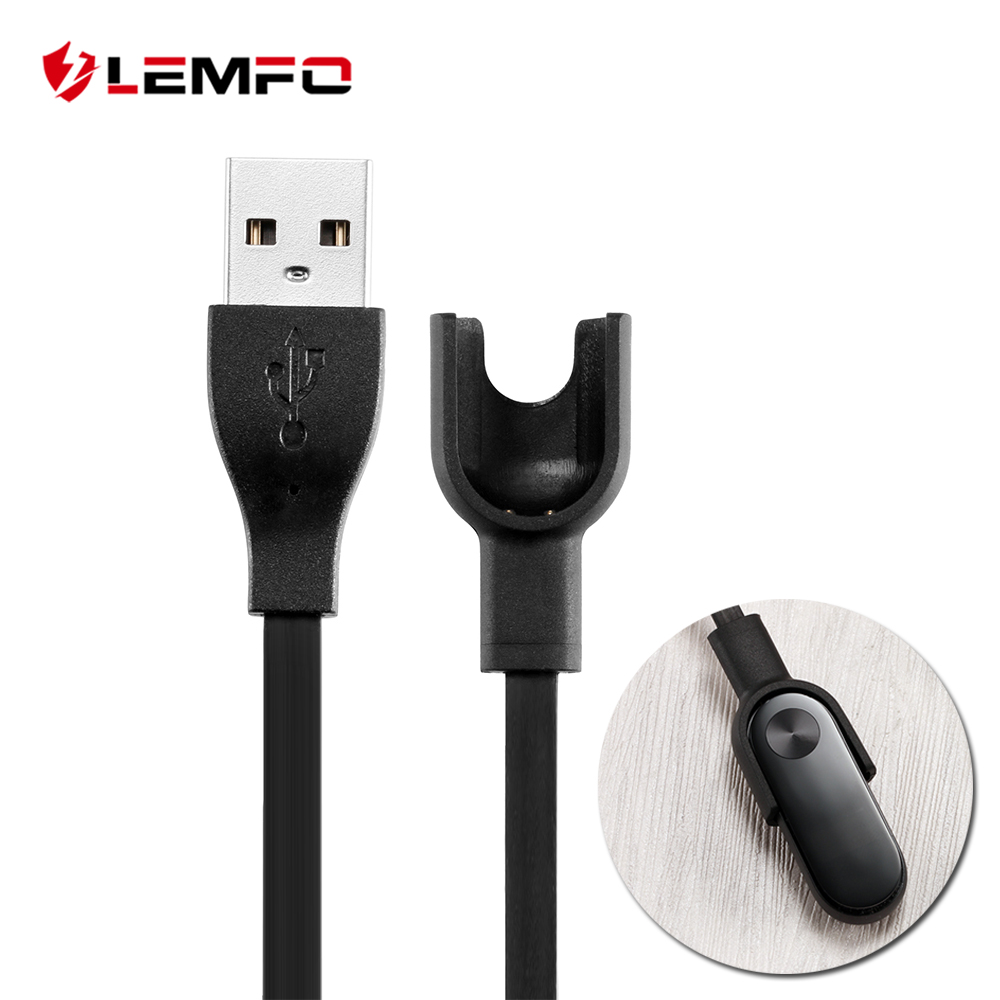 LEMFO Smart Accessories For Xiaomi Mi Band 2 Charger Easy to Carry for Xiaomi Mi Band 2 Charger Cable USB Charging Cables flexible usb charging cables for samsung i9000 i9100 i9220 s5830 pair