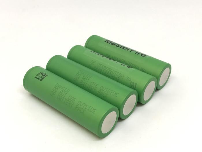 MasterFire vente en gros 100% Original VTC5A 2600 mAh 18650 batterie au Lithium 30A décharge pour Sony US18650VTC5A E-Cigarette Batteries