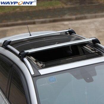 Roof Rak Aluminium Paduan Badan Utama untuk Benz GLA-180-GLA260 2013-2015 1 Set
