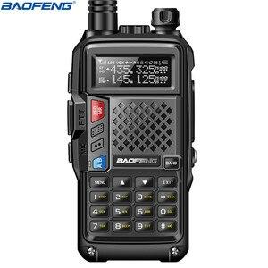 Image 2 - BaoFeng BF UVB3 Plus 8W Powerful Walkie Talkie cb ham Two Way Radio 128CH 136 174Mhz & 400 520Mhz 10KM Long Range Upgrade UV 5R