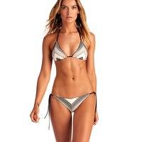 2018 Bikini Sets SEXY Secret Womens Swimwear Stripe Ladies Swimwear Bikini Push Up Swimwear Brazilian Bikini