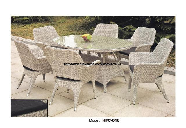 Aliexpress.com : Buy Concise Wicker Leisure Glass Table