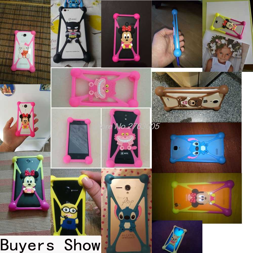 Linda funda de silicona suave de dibujos animados hello kitty Batman Minnie Minions Stitch para DEXP Ixion XL150 Abakan Z150 Z155 Z255 z355
