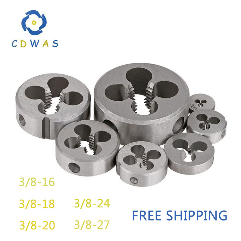 3/8-16 3/8-18 3/8-20 3/8-24 3/8-27 UNS UN UNC UNF Right Hand Die Threading Tools For Mold Machining 3/8 3/8