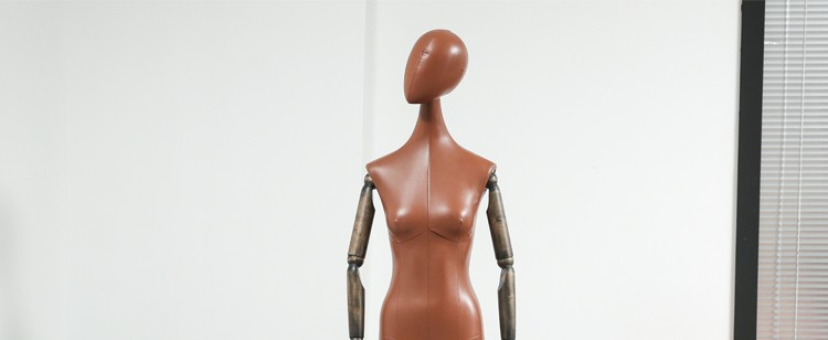 Clothes mannequins female half body mannequin cloth belt female wedding dress mannequin women\'s fabric mannequin (15)