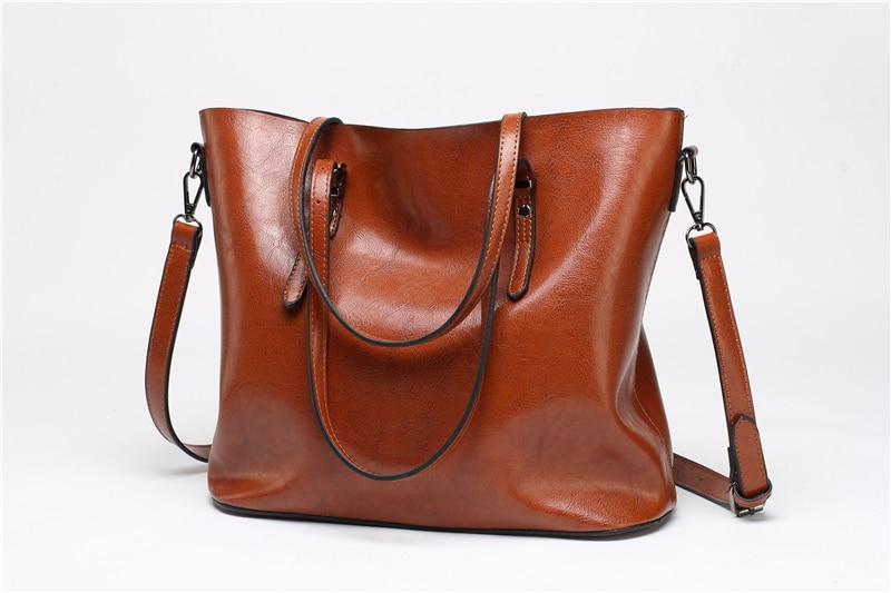 Women Tuff  Leather Tote Handbag 1
