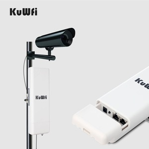 Image 4 - KuWFi 2KM Wireless חיצוני CPE WIFI נתב 5.8G 900 נקודת הגישה 300mbps AP נתב 1000mW WIFI גשר WIFI מהדר WIFI Extender