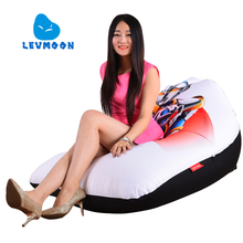 LEVMOON Beanbag Sofa Chair Shell Altman Seat zac Comfort Bean Bag Bed Cover Without Filler Cotton Indoor Beanbag Lounge Chair