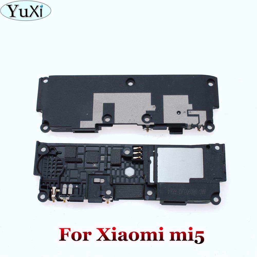 YuXi 10 pcs/lot For Xiaomi Mi 5 Mi5 Mi6 Loud Speaker Assembly Loudspeaker Buzzer Ringer With Flex Cable Repair Parts