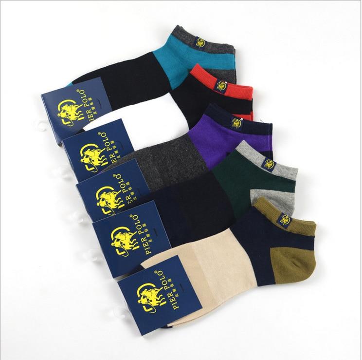 Для Мужчинs Носки чулки полосатые ветер Pier поло детские носки чулки Повседневная коттоновые носки ...