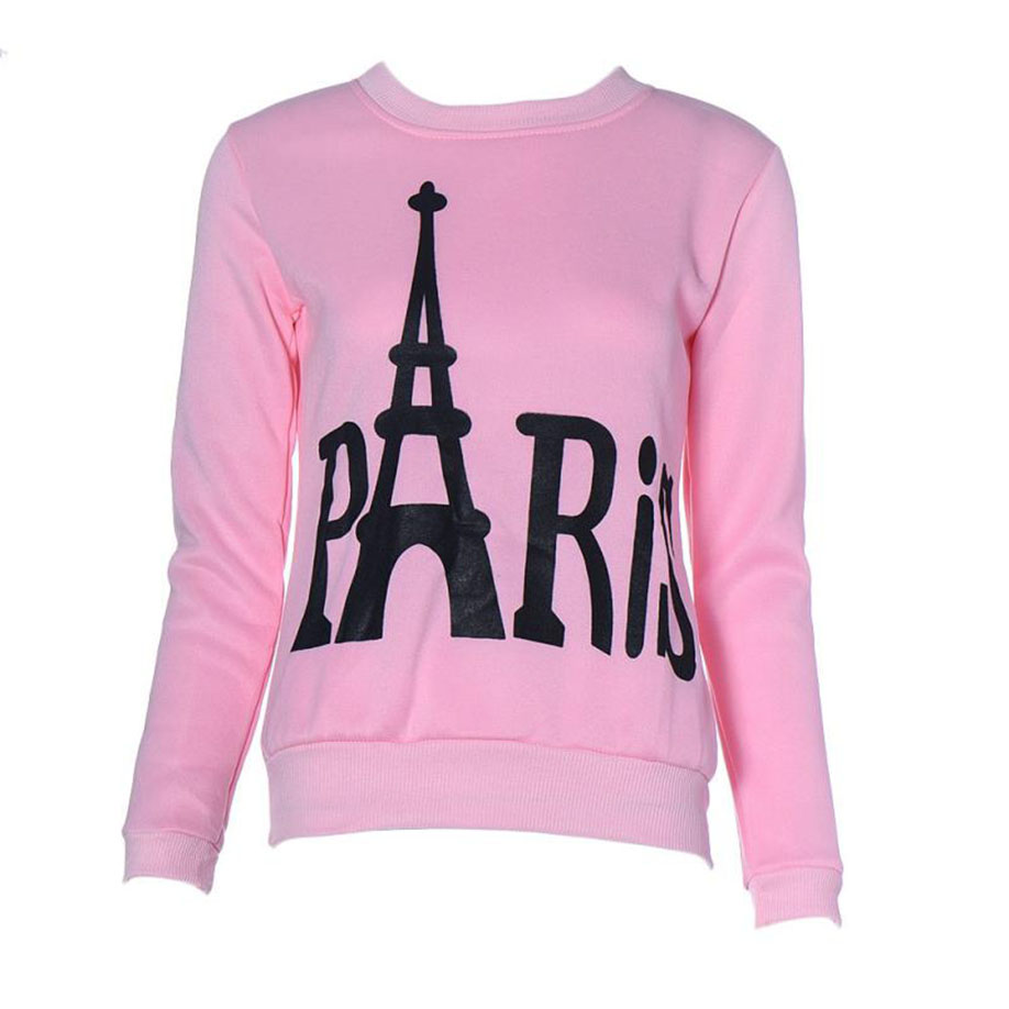 feitong Women Long Sleeve Printed Pullover Sweatshirts 2017 Newest Unique Design 2017 Newest Hot Sell Best Sell Newest Fashion