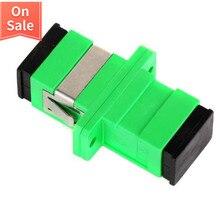 SC APC адаптер SM одномодовый оптический фланец муфта Simplex SC волоконно-оптический разъем и муфта Ftth волоконно-оптический SC адаптер