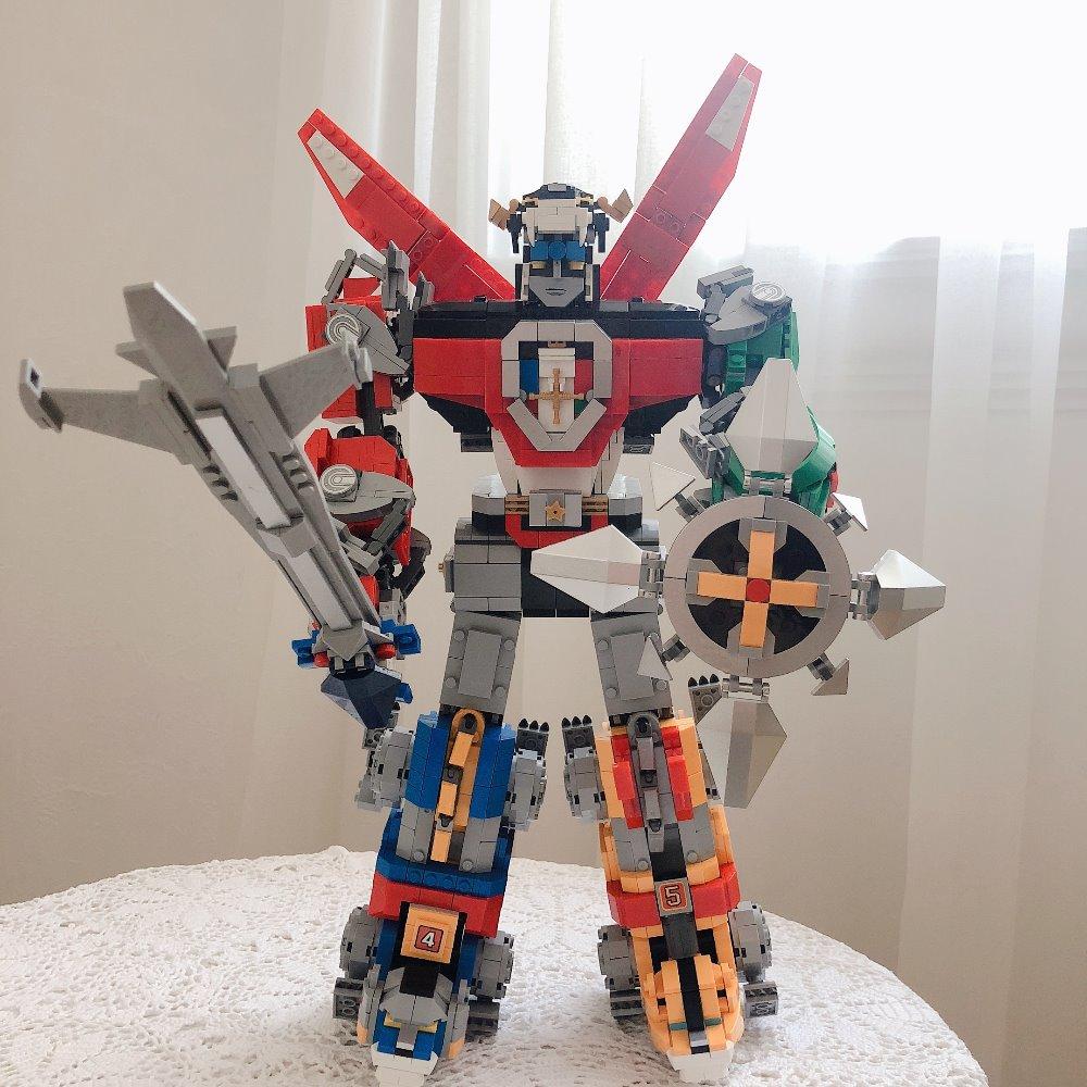 Lepin 16057 Movie Transformation Change Robot Model Building Blocks Action Figure Brick 21311 Deformation Robot Toy for children