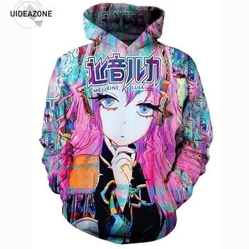 Anime Hoodie Hoodies Men Women New Fashion Autumn Winter Sportswear Tracksuit Sudaderas Hombre Casual 3D Hooded Sweatshirt 5XL hoodie