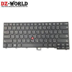 Arabic Keyboard New Original for Lenovo Thinkpad E431 E440 Laptop Teclado 04Y2768 0C45333 04Y2731