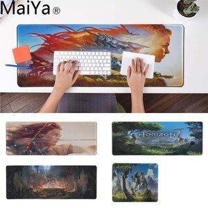 MaiYa Vintage Cool Horizon Zero Dawn индивидуальные коврики для мыши компьютерный Аниме Коврик для мыши и ноутбука прочный резиновый коврик для мыши