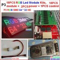 18 шт. 3 мм из светодиодов комплект модулей, 18 шт. модуль + 2 + 1 + кабель питания + usb-кабели