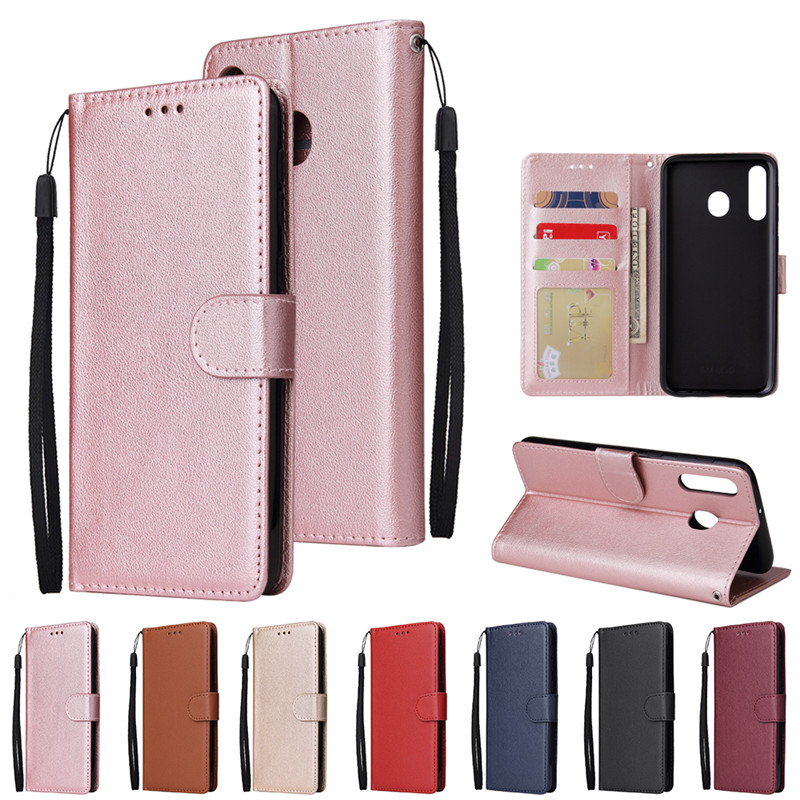 <font><b>Flip</b></font> <font><b>Leather</b></font> <font><b>Case</b></font> on for <font><b>Samsung</b></font> Galaxy S10 S9 Plus S10e J4 J6 Plus A6 A7 2018 <font><b>M10</b></font> M20 M30 Cover Classic <font><b>Flip</b></font> <font><b>Wallet</b></font> Phone <font><b>Cases</b></font> image