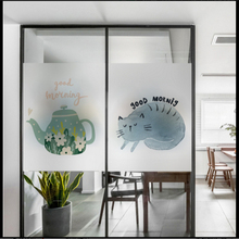 Window Glass stickers Warm frosted glass film office bathroom nursery window partition door transparent opaque
