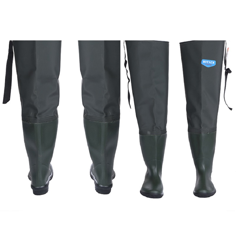 Image 5 - Waterproof Boots Hunting Boots Waders For Fishing Waders Fishing Winter Fishing Boots Wading Shoes Rubber Waders Rubber Boot-in Fishing Waders from Sports & Entertainment