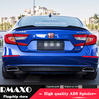 For Honda Accord Spoiler 2018 2019 Accord YRF High Quality Spoiler ABS Material Car Rear Wing Primer Color Rear Spoiler