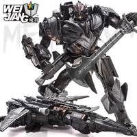 WEI JIANG MPP10 Deformation Transformation Robot Toy Version 4 Super Alloy Robot Car Collection Model Toys