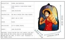 One Piece Luffy Bag for Children 12Inch