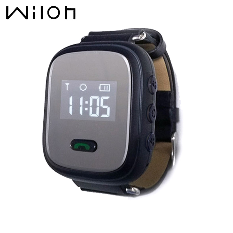Q60 Silicone Smart Tracker Mini Waterproof GPS Tracker Smart Watch 0.96 Inch For Kids And Old Man With SOS Function