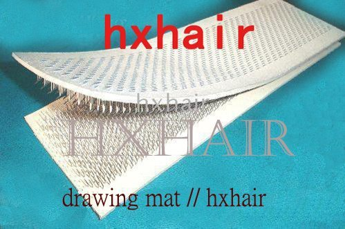 Freeshipping - 2pcs Hair Holder / Drawing Mat / Hair Extension Tools