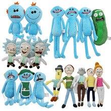 Toys Hobbies - Stuffed Animals  - 17-30CM Rick And Morty New Animated Plush Toys Moti Mr. Rick Rick Fox Q Mississauga Decorative Plush Doll Toys Children Gift