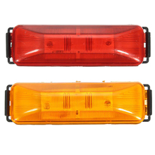 цена на 10 Pcs 4 LED Car Side Marker Lights Clearance Lamp for 12V Vehicles Truck Trailer