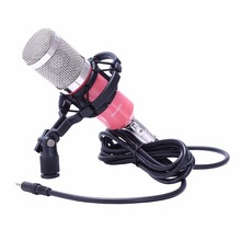 HFES BM 800 Karaoke Capacitor Microphone With Shock Mount Condenser Microphone Mic Kit For Radio Sound Recording KTV Singing недорого