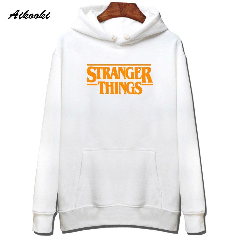 Hoodie Stranger Things Hoodies Sweatshirt women/men Casual Stranger Things Sweatshirts Women Hoodie Men's 52