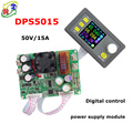 RD DPS5015 Constant Voltage current Step-down Programmable digital Power Supply buck Voltage converter color LCD voltmeter 15A