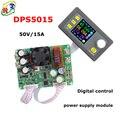 Rd dps5015 voltaje constante y corriente step-down fuente de alimentación programable digital color lcd voltímetro buck convertidor de voltaje 15a