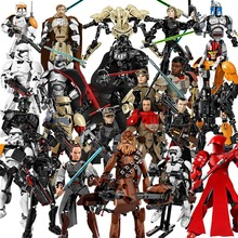 26 styles Star Wars The Last  Jedi Toys Darth Vader General Grievous Boba Fett Chewbacca Luke Skywalk Figure building blocks