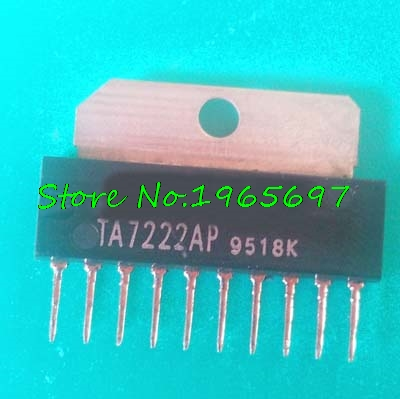 10pcs/lot TA7222AP TA7222 SIP-10 In Stock