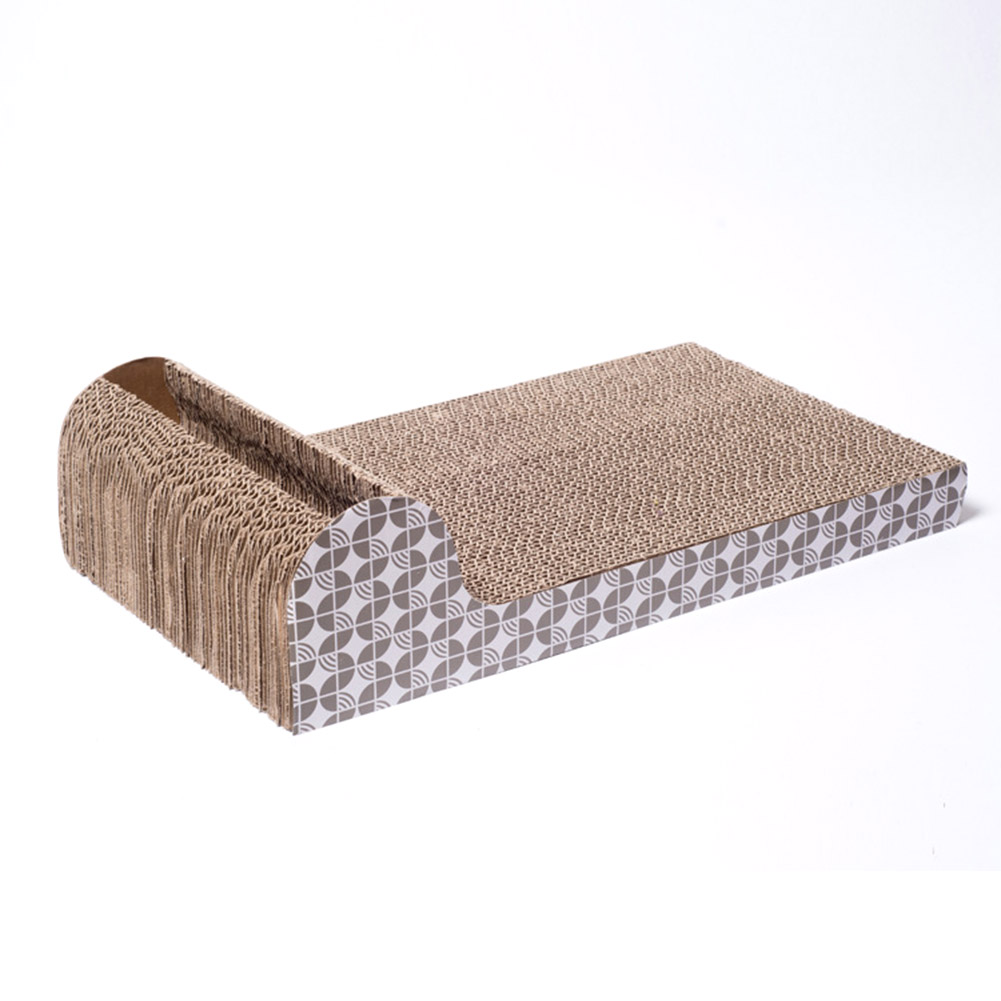 Pet Dog Cat Kitten Corrugated Scratch Board Pad Scratcher Bed Mat Claws Care Interactive Toy For Pet Cat Training Cat Toy